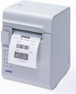 Epson TM-L90, seriell, ohne Netzteil, weiß (C31C412011)