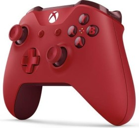 Microsoft Xbox One Wireless Controller rot (Xbox One/PC)