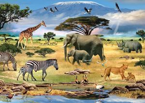 Ravensburger puzzle animals Afrikas (19305)
