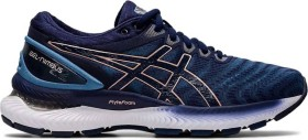 Asics Gel-Nimbus 22 grey floss/peacoat (Damen) (1012A587-401)