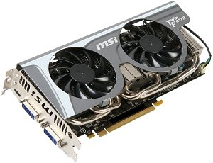 MSI N560GTX-Ti Twin Frozr II, GeForce GTX 560 Ti, 1GB GDDR5, 2x DVI, mini HDMI, PCIe 2.0 (V238-203R)