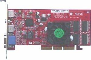MSI MS-8833 MX400 Pro-VT32S, GeForce2 MX/400, 32MB, VIVO