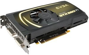 EVGA GeForce GTX 560 Ti Superclocked, 1GB GDDR5, 2x DVI, Mini HDMI (01G-P3-1563)