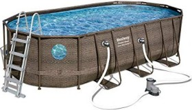 Bestway Power Steel Vista Oval Frame Pool 549x274x122cm (56716)