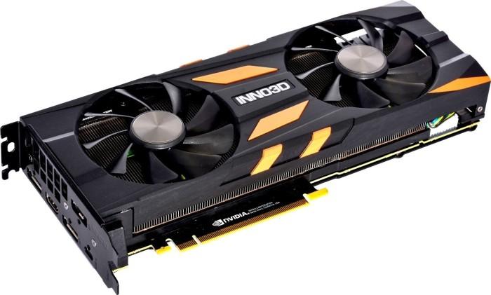 INNO3D GeForce RTX 2080 X2 OC, 8GB GDDR6, HDMI, 3x DP, USB-C (N20802-08D6X-1180633)