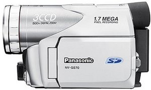 Panasonic NV-GS70 srebrny