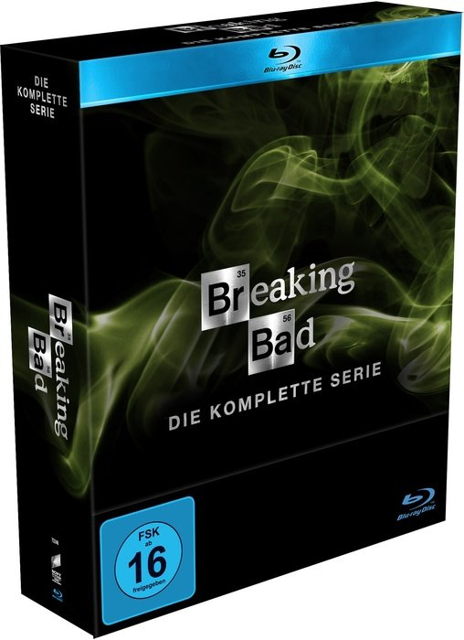 Breaking Bad Box (Season 1-5) (Blu-ray)