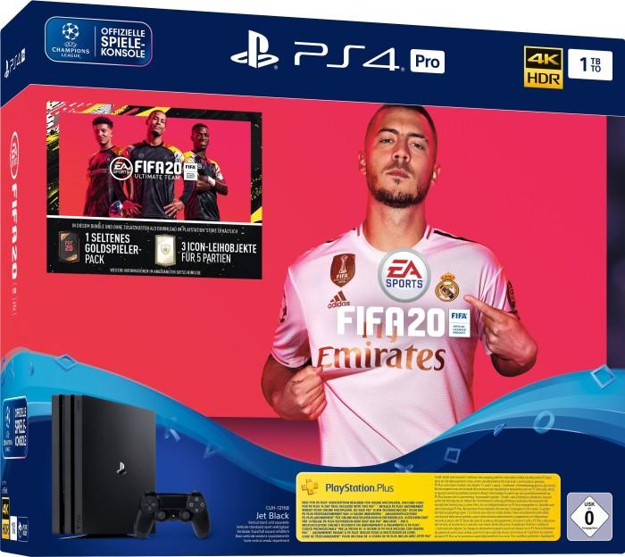 Sony PlayStation 4 Pro - 1TB FIFA 20 Bundle schwarz (9979302)