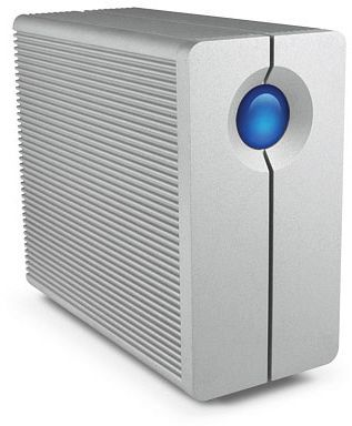 LaCie 2big Thunderbolt 6000GB, 2x Thunderbolt, incl. Thunderbolt cable (9000360)