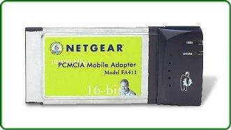 Netgear FA411, 1x RJ-45 10/100, PCMCIA