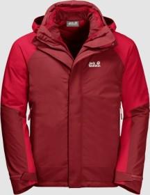 Jack Wolfskin Steting Peak Jacke dark lacquer red (Herren) (1112211-2027)
