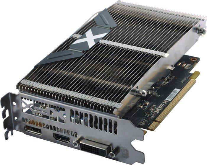 XFX Radeon RX 460 passive heatsink Edition, 4GB GDDR5, DVI, HDMI, DisplayPort (RX-460P4HFG5)