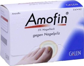 Amofin 5% Nagellack, 5ml
