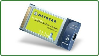Netgear FA511, 1x 100Base-TX, Cardbus