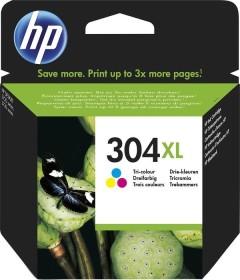 HP Druckkopf mit Tinte 304 XL dreifarbig (N9K07AE)