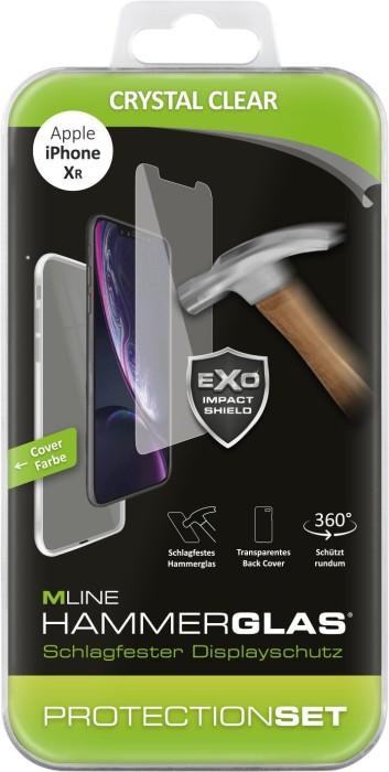 MLine Protection Set Crystal Clear für Apple iPhone XR (MH0014)