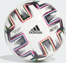 adidas Uniforia Competition Ball white/black/signal green/bright cyan (FJ6733)