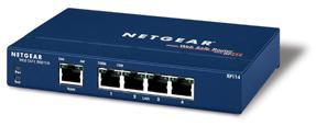 Netgear RP114 Family xDSL/Przewody router