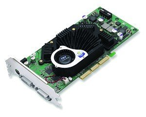 PNY Quadro FX 3000, GeForceFX 5900, 256MB DDR, 2x DVI, TV-out, AGP (VCQFX3000-PB)
