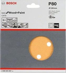 Bosch random orbit sander sheet C470 Best for Wood and Paint 150mm K80, 5-pack (2608605087)