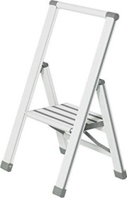 Wenko aluminium household ladder 1 level white (601014100)