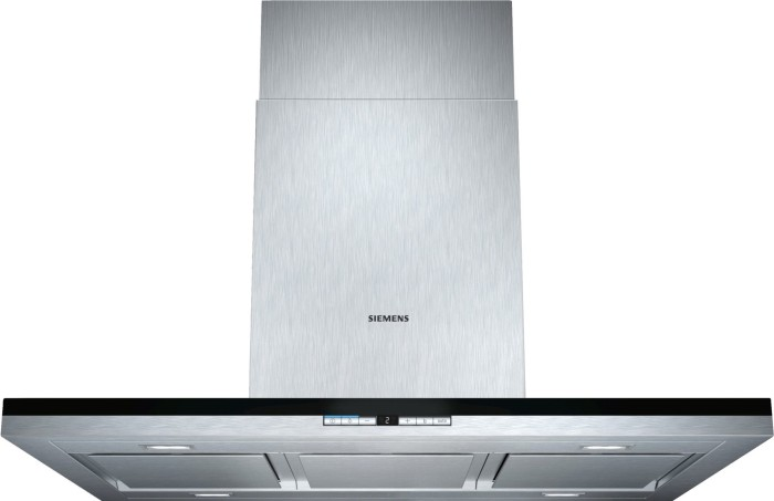 Siemens iq700 lf91bb552 insel dunstabzugshaube kochen & backen