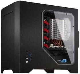 Cooltek W1 schwarz, Acrylfenster, Mini-ITX (JB W1 K-W)
