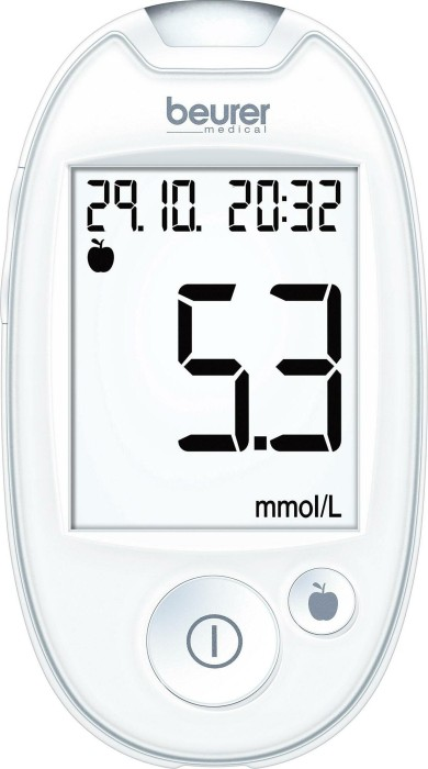 Beurer GL 44 white (mmol/L) -- via Amazon Partnerprogramm