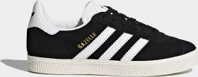 adidas Gazelle core black/footwear white/gold metallic (Junior) (BB2507)