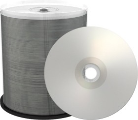 MediaRange CD-R 80min/700MB 52x Silver, 100-pack Spindle printable (MR244)