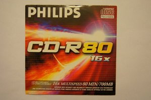 Philips CD-R 80min/700MB -- © bepixelung.org