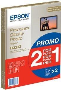 Epson C13S042169 Premium glänzend Fotopapier, A4, 255g, 30 Blatt