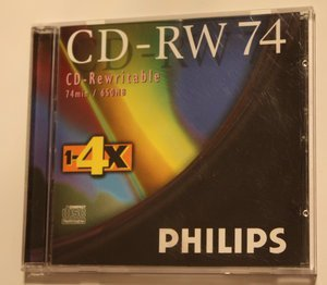 Philips CD-RW 74min, 650MB -- © bepixelung.org