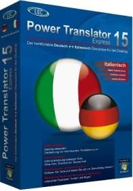 Avanquest Power Translator 15 Express, Deutsch - Italienisch (deutsch) (PC)