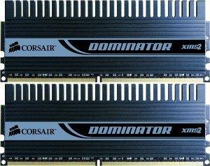 Corsair XMS2 Dominator DIMM Kit 4GB, DDR2-1066, CL5-5-5-15 (TWIN2X4096-8500C5D)