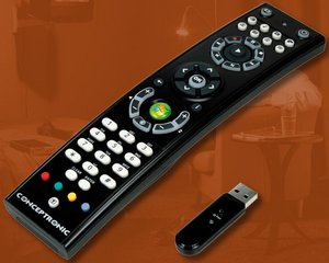 Conceptronic Lounge'n'Look Remote Control for Windows Media Center, USB (CLLRCMCE)