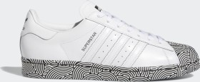 adidas Superstar cloud white/core black/signal pink (FY1588)
