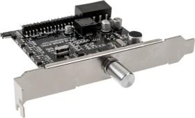 Lamptron CFP30 Sync, silber, PCI-Slotblende, Licht- und Lüftersteuerung 4-Kanal (LAMP-CFP30SS)