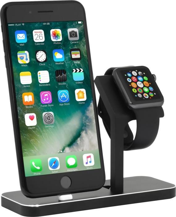 Stilgut Dockingstation für Apple Watch und iPhone schwarz ...
