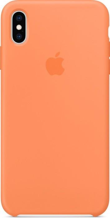Apple iPhone XS Max Silicone Case Papaya (MVF72ZM/A)