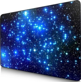 Sidorenko MaxLVL Gaming mousepad star, 280x200mm, black/blue