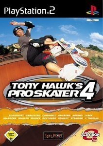 Tony Hawk's Pro Skater 4 (niemiecki) (PS2)