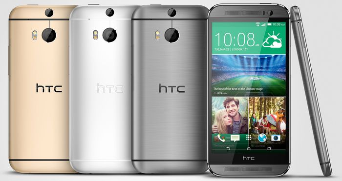 HTC One (M8) 16GB with branding