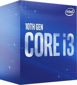 Intel Core i3-10100, 4C/8T, 3.60-4.30GHz, boxed (BX8070110100)