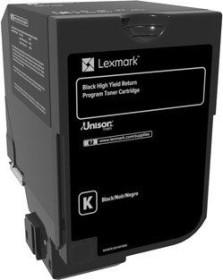 Lexmark Toner 840HK schwarz hohe Kapazität (84C0H10)