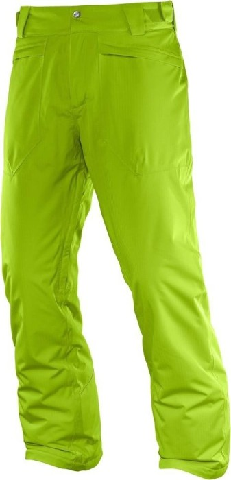 31c7db225ebf Salomon Stormspotter ski pants long green (men) (382750)