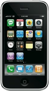 Apple iPhone 3G 8GB with branding