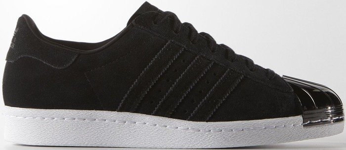 adidas superstar schwarz metal toe