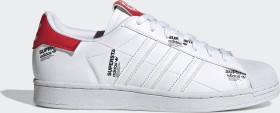 adidas Superstar cloud white/vivid red/core black (GV7672)