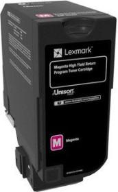 Lexmark Toner 840HM magenta hohe Kapazität (84C0H30)